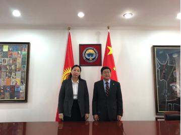 华和必威betway88刘传武拜访吉尔吉斯斯坦驻华大使
